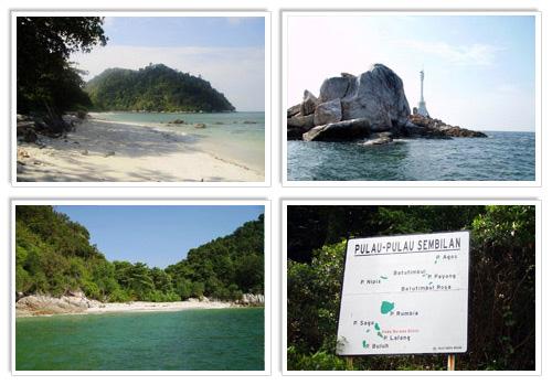 Sembilan Island Malaysia