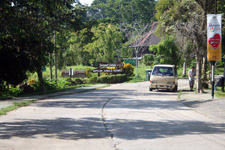 Road to rehabilitation centre in Sepilok