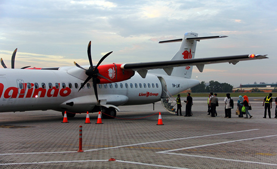Malindo Air at Subang Airport