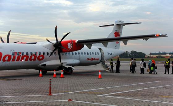 Malindo Air at Subang Airport