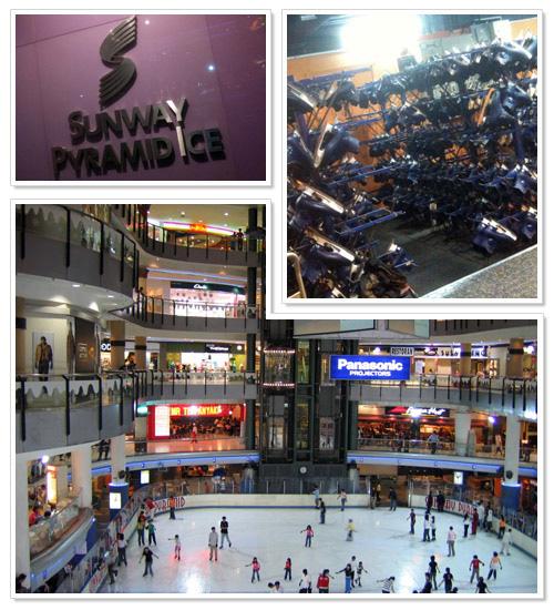 Sunway Pyramid ice rink