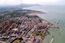 Tawau aerial view