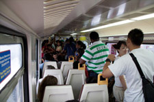 Train to the Batu Caves