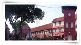 Malacca historic center