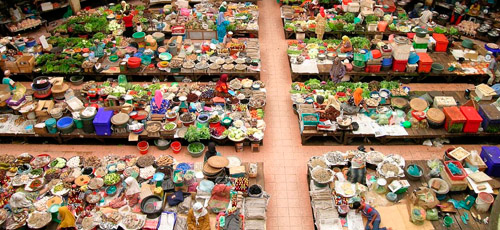 Wet market Kota Bharu
