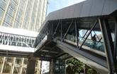 Pedestrian walkway between KLCC and Bukit Bintang