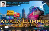Beautiful Kuala Lumpur time lapse