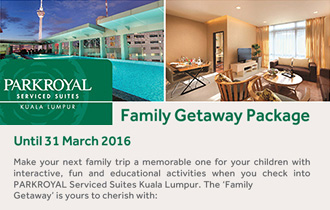 Family Getaway Package at PARKROYAL