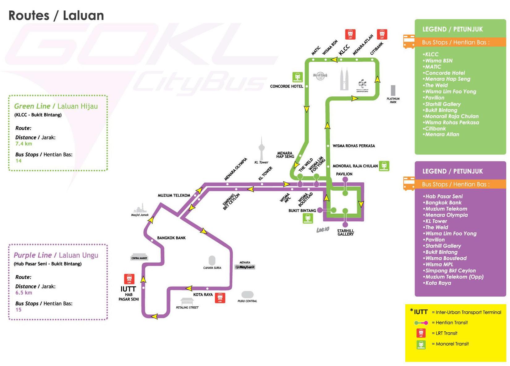 Kuala Lumpur Map Pdf